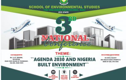 SCHOOL OF ENVIRONMENTAL STUDIES CONFERENCE UPDATE. BOOK OF ABSTRACTS.