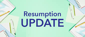 TOPS RESUMPTION